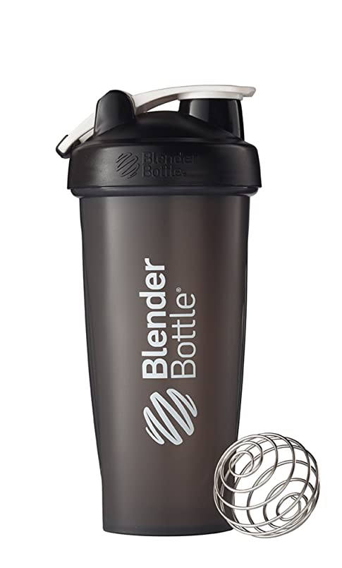 マルクス主義者薄汚いどちらもBlenderBottle Classic Loop Top Shaker Bottle, Black, 28 Ounce by Blender Bottle