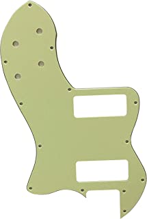 Guitar Parts For Fender Tele Classic Player Thinline P90 Guitar Pickguard (3 Ply Vintage Green)