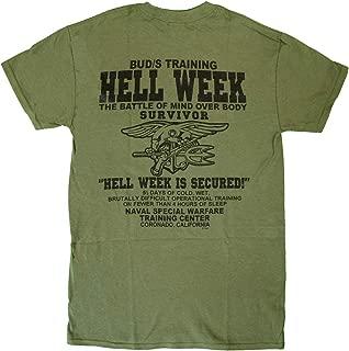 U.S. Navy Seals Hell Week T-Shirt Devgru UDT Underwater Demolition Team