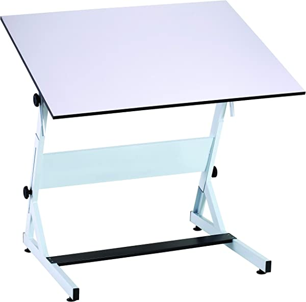 Bieffe Artist Drafting Table Professional European Style Metal Adjustable Tabletop Drawing Reading Writing Art Craft Work Station 30 X 42