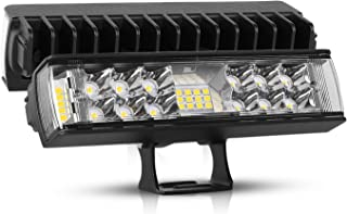 LED Light Bar 7 Inch Rigidhorse 6000LM Flood Spot Combo Light Bars Off Road Work Lights Fog Lights Driving Lights For Jeep Truck SUV ATV 4WD Car Truck Golf Cart