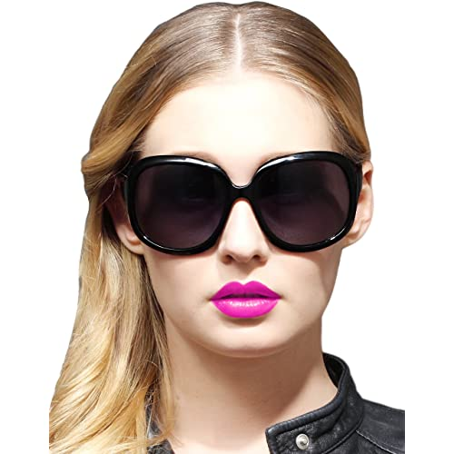 0a5a62cdd160 ATTCL Women s Oversized UV400 Polarized Sunglasses