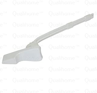 Toilet Tank Flush Lever Replacement for American Standard, 45 Degree Neo-Angle Arm, White