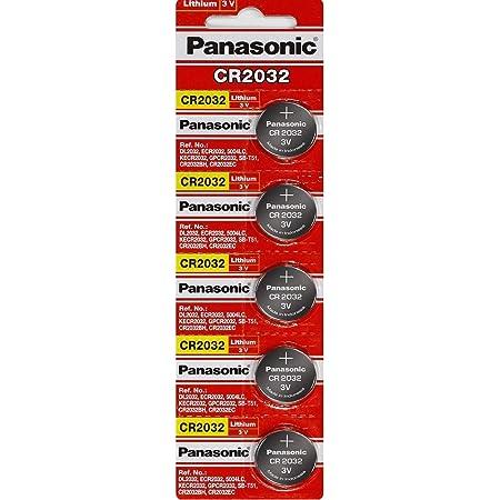 Panasonic Cr2032 3v Lithium Batterie 4pack X 20 Elektronik