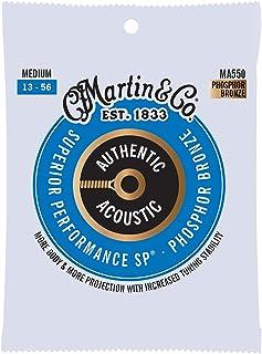 Best Martin Guitar MA550 Authentic Acoustic Medium Guitar Strings, 92/8 Phosphor Bronze Review