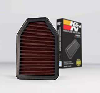 Best K&N Engine Air Filter: High Performance, Premium, Washable, Replacement Filter: 2007-2018 Jeep Wrangler V6 3.6L, 33-2364 Review