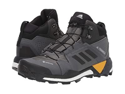 adidas Outdoor Terrex Skychaser XT Mid GTX (Grey Five/Black/Active Gold) Men