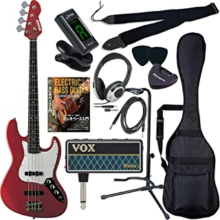 SELDER セルダー ベース ジャズベースタイプ JB-30/MRD VOX amPlug2【アンプラグ2 AP-BS(BASS)】サクラ楽器オリジナルセット