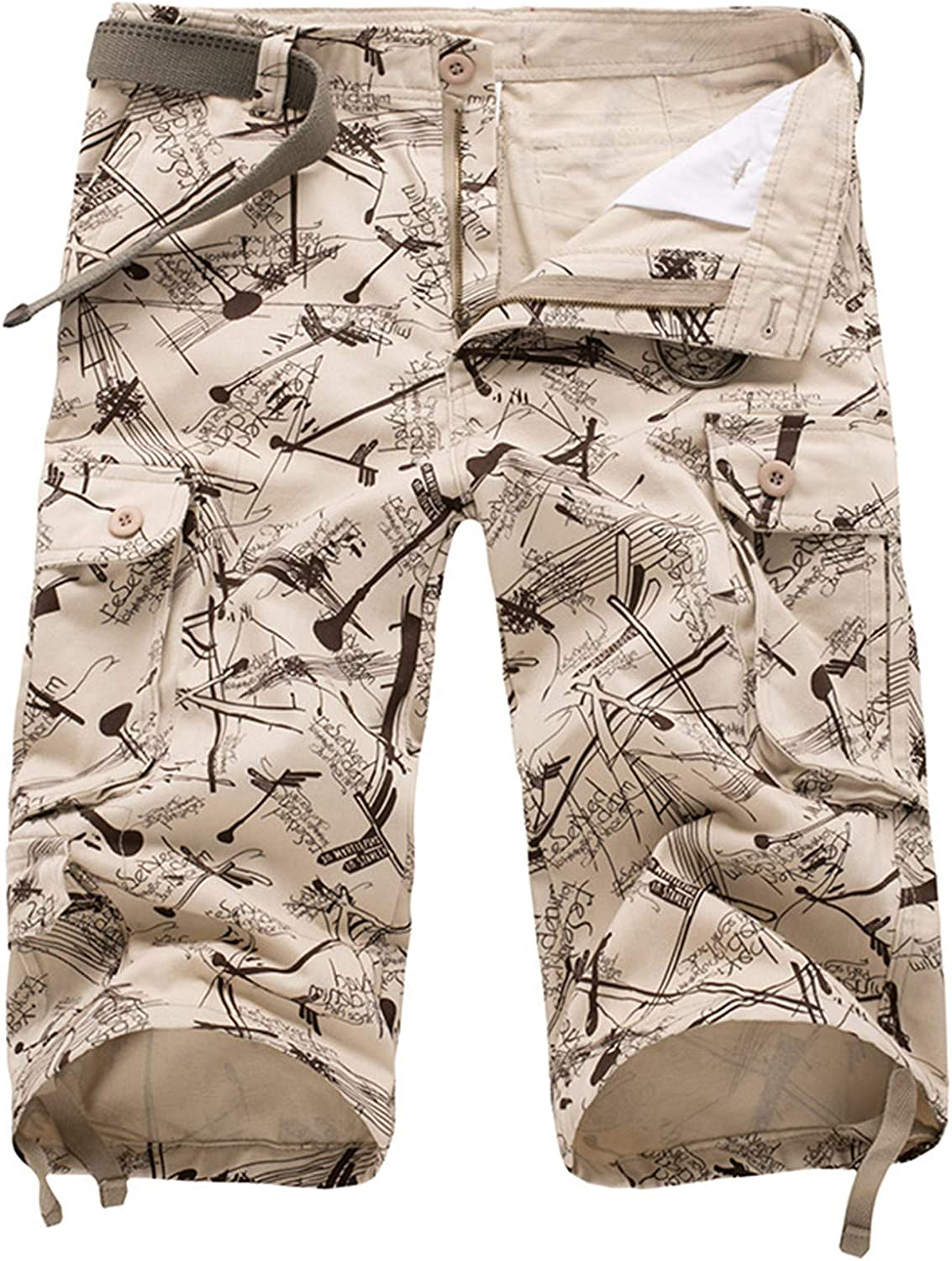 Summer Men's Cargo Beach Shorts Casual Camouflage Camo Baggy Military Short Pants Male Tactical Shorts