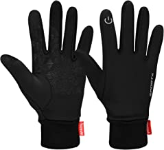 Cevapro Touchscreen Gloves, Winter Warm Gloves Cycling Gloves Lightweight Running Gloves for Hiking Driving Climbing - Women & Men