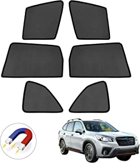 Mixsuper Forester Sun Shade UV Rays Protection Magnet Window Shade for 2019 Subaru Forester 6 Pack …