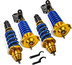 MOSTPLUS Adjustable Height Coilovers Struts for 2002 2003 2004 2005 2006 Acura RSX DC5 Suspensions Shock Struts Kits (Set of 4)