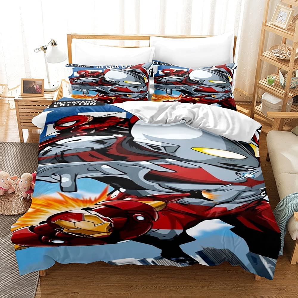 yijia0213 Bedding Online limited product Set Overseas parallel import regular item Luxury Quilt Cov Cartoon Character
