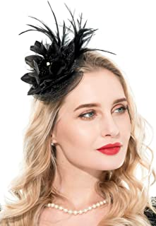 Best small feather fascinators Reviews