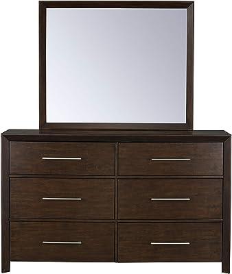 Standard Furniture Brentwood 6-Drawer, Brown Bedroom Dresser