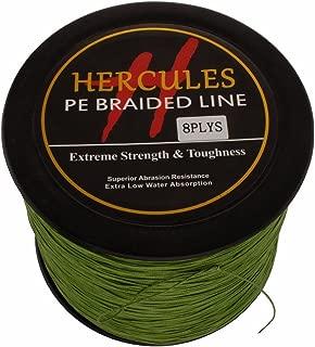HERCULES 1000m 1094yds Superline 10lbs-300lbs Pe Braided Fishing Line 8 Strands