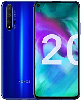 Honor 20 Dual Sim 128Gb 6Gb Ram Factory Unlocked 4G Lte Smartphone International Version Sapphire Blue