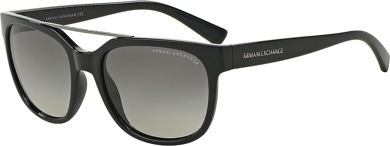 Exchange Armani 0AX4043S Sun Full Rim Square Womens Sunglasses