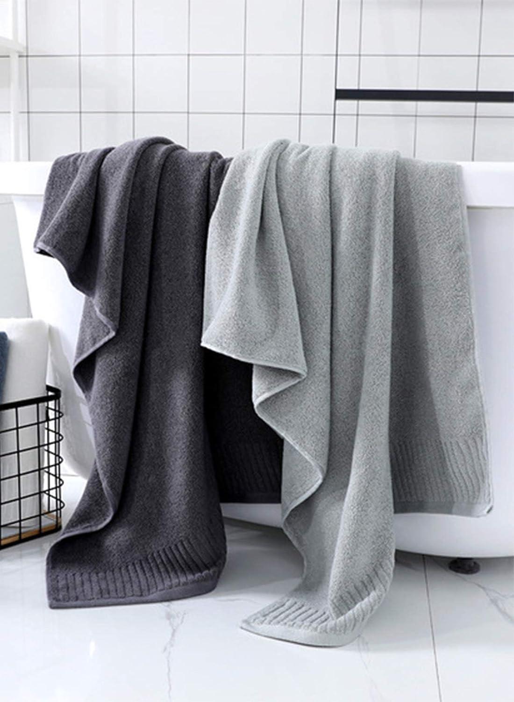 CORAFRITZ Serviette de bain de couleur unie tr/ès absorbante taille 71,1 x 139,7 cm