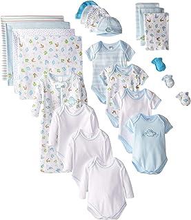 SpaSilk Baby Boys' Newborn 23-Piece Essential Baby...