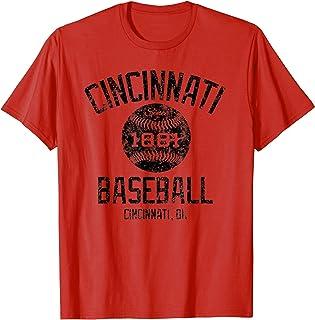 Vintage Cincinnati Ohio Baseball 1881 Classic Fan T-shirt