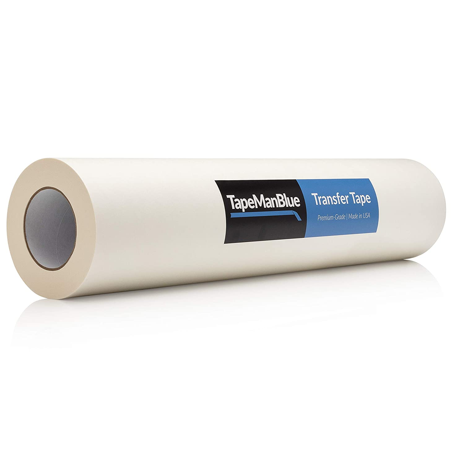 24 inch x 100 Yard Roll of Vinyl Transfer Tape Paper with Layflat Adhesive. Premium-Grade Application Tape for Vinyl Graphics and Sign Making. Made in The USA