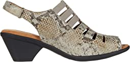 Light Grey Rockafeller Snake Print