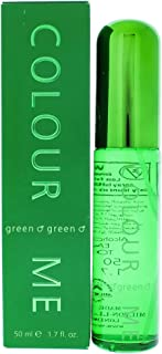 Colour Me | Green | Eau de Toilette | Fragrance Spray for Men | Oriental Fougere Scent | 1.7 oz