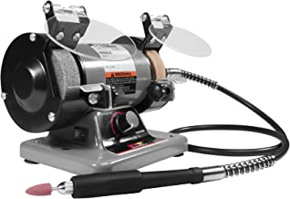 """Performance Tool - 3"""" Portable Bench Grinder (W50003) Power Tools - Corded"""