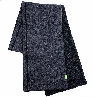 Hugo Boss Men's Knit Fleece Winter Scarf