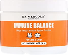 Dr. Mercola, Immune Balance, for Cats and Dogs, 3.5 oz. (102 g), Supports Liver and Digestive Health, with Bovine Colostru...