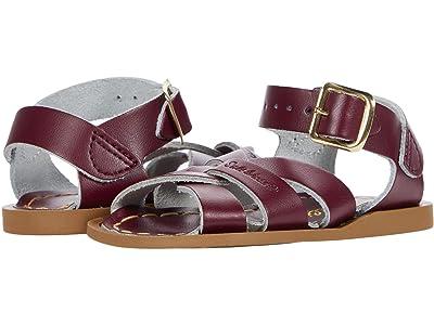 Salt Water Sandal by Hoy Shoes The Original Sandal (Infant/Toddler) (Claret) Kids Shoes