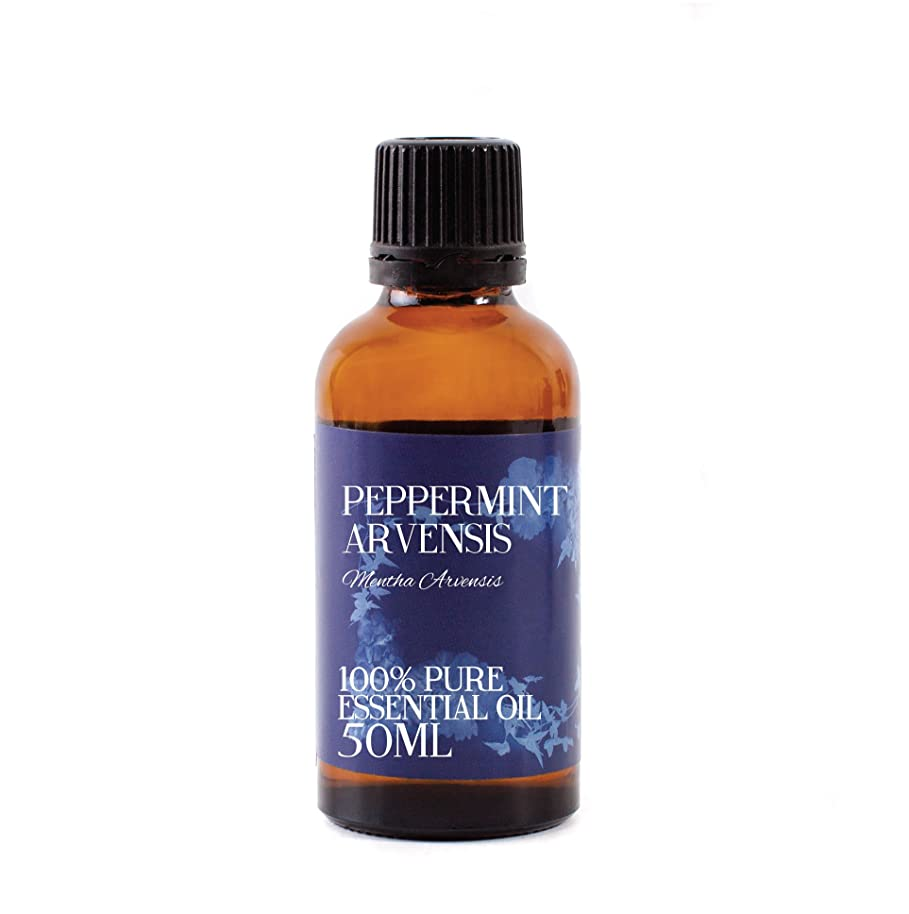 進化古代クレデンシャルMystic Moments | Peppermint Arvensis Essential Oil - 50ml - 100% Pure