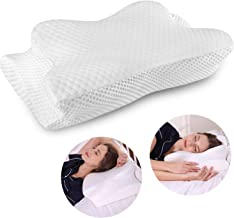 Cervical Pillow Contour Pillow for Neck and Shoulder Pain, Coisum Orthopedic Memory Foam Pillow Ergonomic Bed Pillow for Side Sleepers Back Sleepers, Neck Support Pillow with Washable Pillowcase