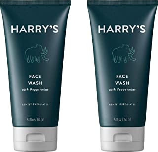 Harry's Men's Daily Face Wash 5.1 oz (2 Pack)