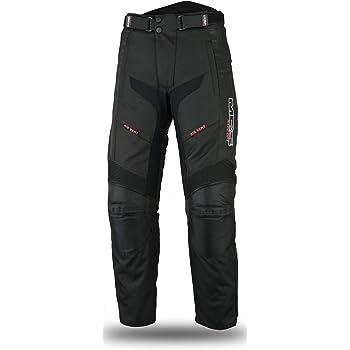 PRO FIRST MB Pantaloni da moto da donna con protezioni CE resistenti rimovibili antivento 100/% impermeabili