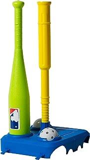 Franklin Sports MLB Kids Baseball Tee - Fold Away Baseball Tee with Carry Case