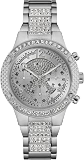 Guess Sport Watch for Women, Stainless Steel, Analog - W0850L1