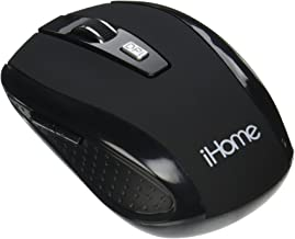 iHome | Desktop Mouse – Wireless Mouse – Black (See More Colors)