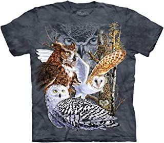 The Mountain Find 11 Owls Tee Shirt Child S-XL Adult S-5X