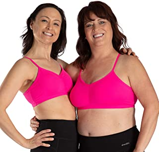 a0bdad065a4 Handful Women s Adjustable Sports Bra with Removable Pads