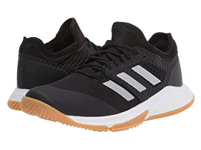 adidas Court Team Bounce (Core Black/Silver Metallic/Footwear White) Women