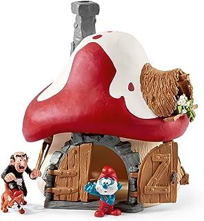 Schleich Smurf House with 2 Figurines
