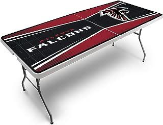 PROLINE NFL 2.5' x 6' Folding Plastic Tailgate Table