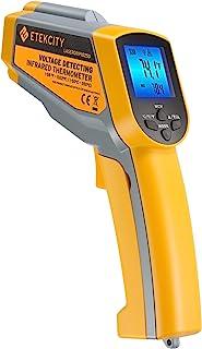 Etekcity Lasergrip 1025D Digital Dual Infrared Laser Thermometer Temperature Gun-58℉~1022℉ (-50℃~550℃) with Adjustable Emi...