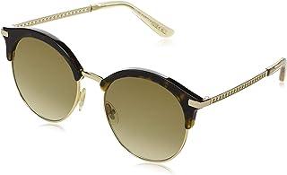 Jimmy Choo HALLY/S 0086 Dark Havana Round Sunglasses for