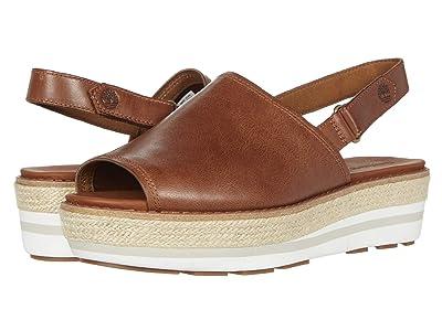Timberland Emerson Point Sandal (Medium Brown Ful Grain Leather) Women