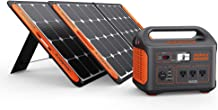 Jackery Solar Generator 1000, Explorer 1000 and 2X SolarSaga 100W with 3x110V/1000W AC Outlets, Solar Mobile Lithium Battery Pack for Outdoor RV/Van Camping