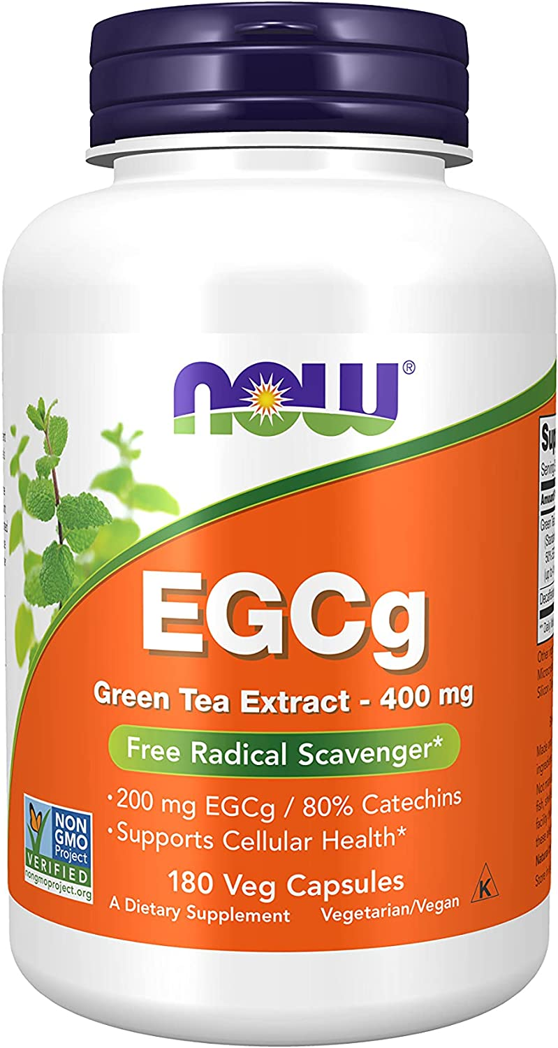 Fees free NOW Supplements EGCg Green Japan's largest assortment Tea Extract mg Sca 400 Radical Free
