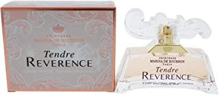 Tendre Reverence by Princesse Marina de Bourbon   Eau de Parfum Spray   Fragrance for Women   Sweet Floral Scent with Notes of Peach, Pink Peony, and Magnolia   50 mL / 1.7 fl oz